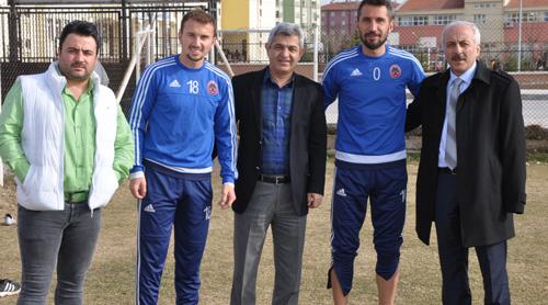 Ercan ve Emre'ye Geçmiş Olsun Ziyareti