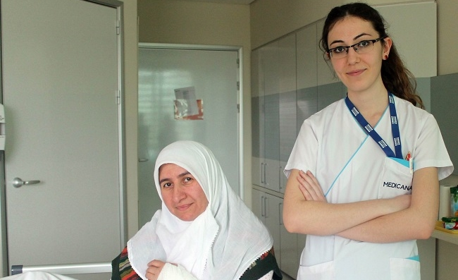 Çorumlu Hasta Şifayı Sivas'ta Buldu