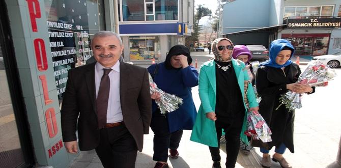 Başkan Karataş, Kadınlar Gününü Kutladı
