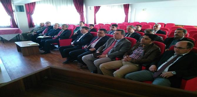 Müdürler EBA Toplantısı Yapıldı