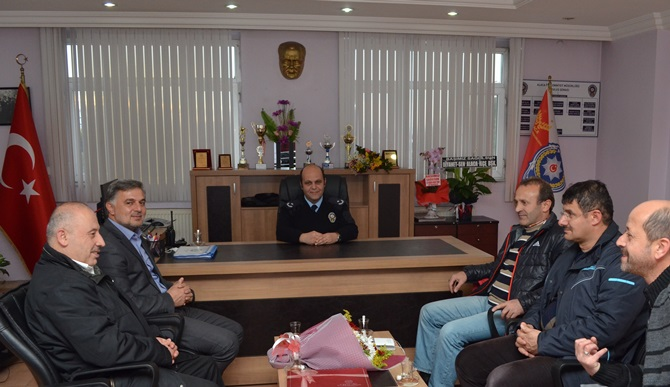 Çorumgaz'dan Polise Destek Ziyareti