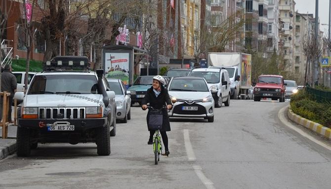 Avukat Keleş'in Bisiklet Düşkünlüğü