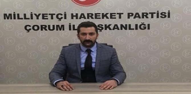 """""""Çorumlu'nun Toplanma Adresi MHP"""""""