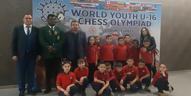 Öğrencilerden, Satranç Olimpiyatlarına Ziyaret
