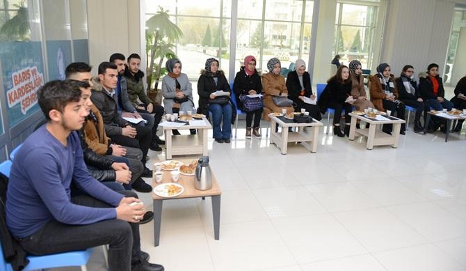 Öğrencilerden Kent Konseyine Ziyaret
