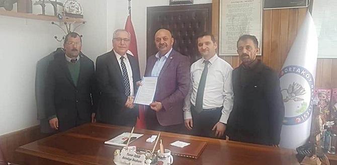 Ortaköy'de,Toplu İş Sözleşmesi İmzalandı