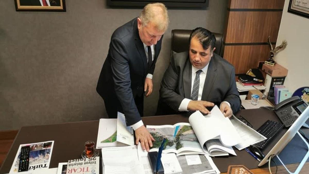 Başkan, Vekile Projelerini Anlattı