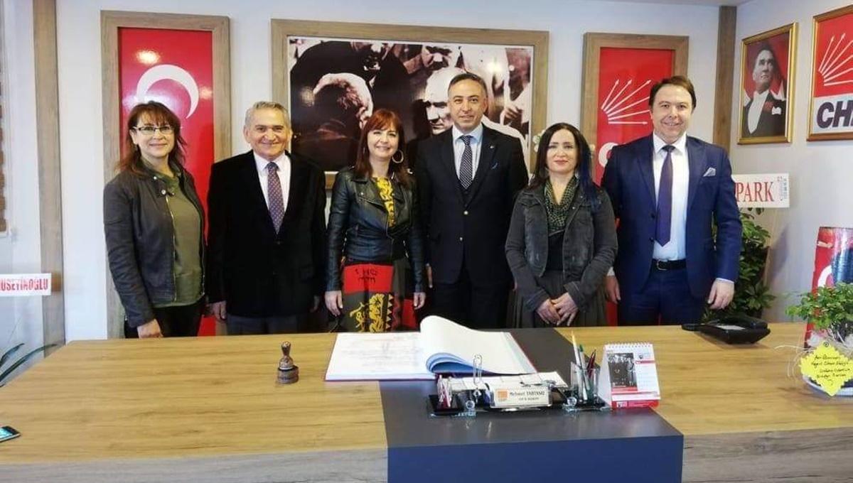 CHP İl Başkanı Tahtasız'da Kampanya Destek Verdi