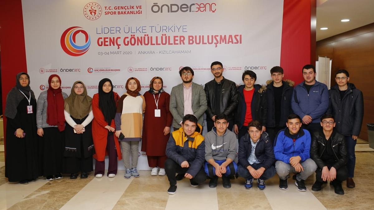 Genç ÇORİMDER, Genç Gönüllüler Buluşması'na Katıldı