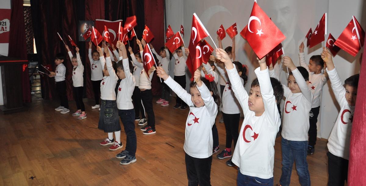 Bayat'ta İstiklal Marşı'nın 99. Yılı kutlandı