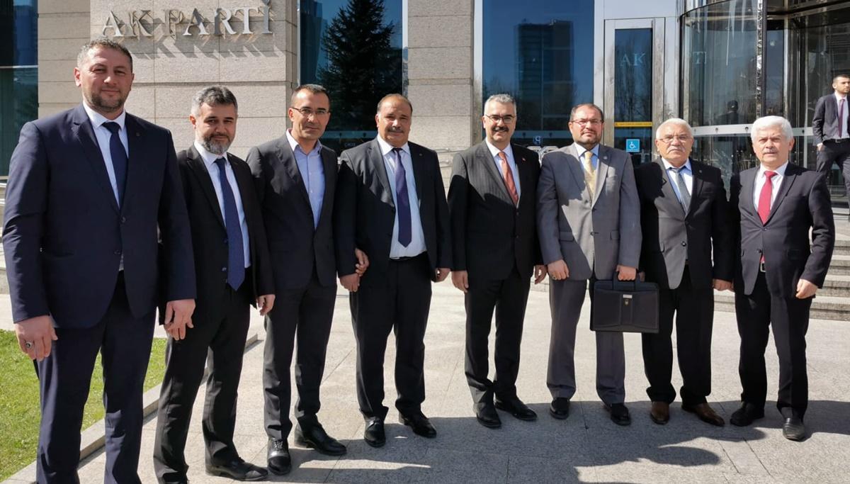 İlçe Başkanları Ankara'da İstişare Yaptı