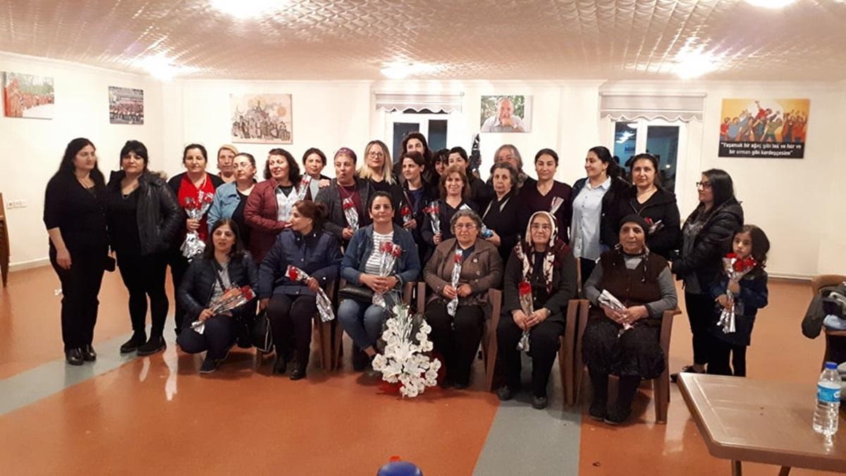 Keşlik Kadınları 8 Mart'ı Kutladı