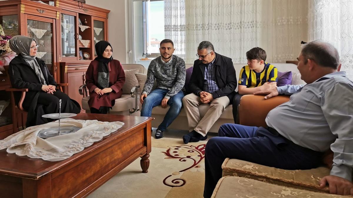 Ahlatcı'dan, İdlib Gazisine Ziyaret