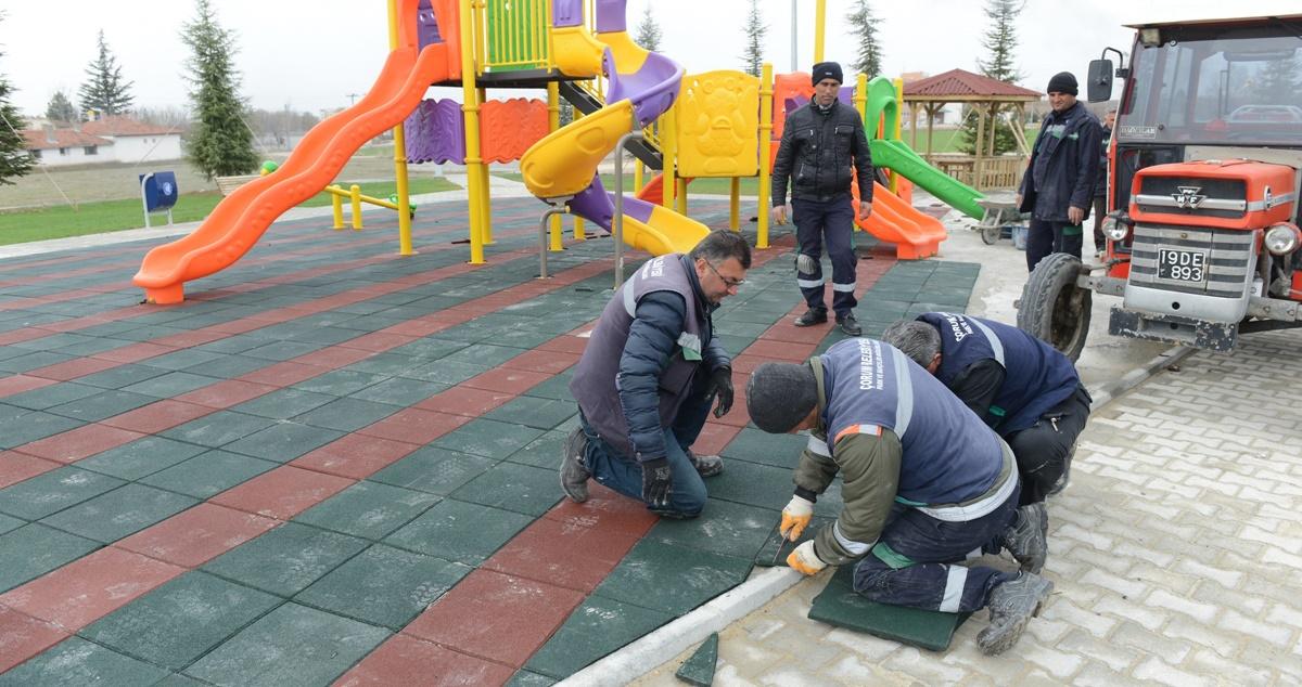Belediye Parkları Bahara Hazırlıyor