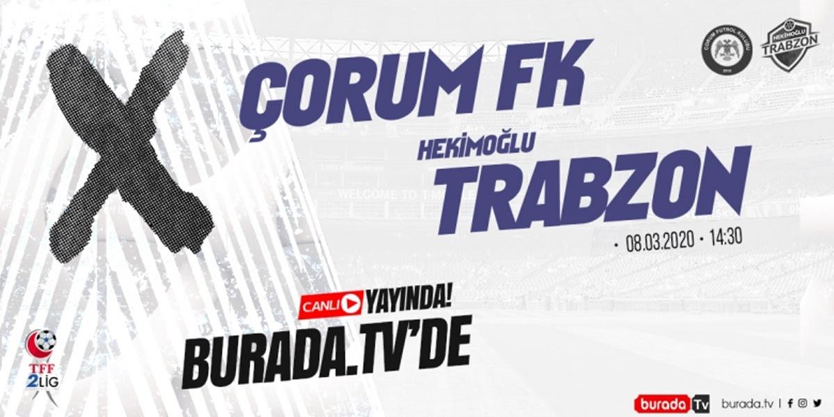 Çorum FK Maçı Şifresiz