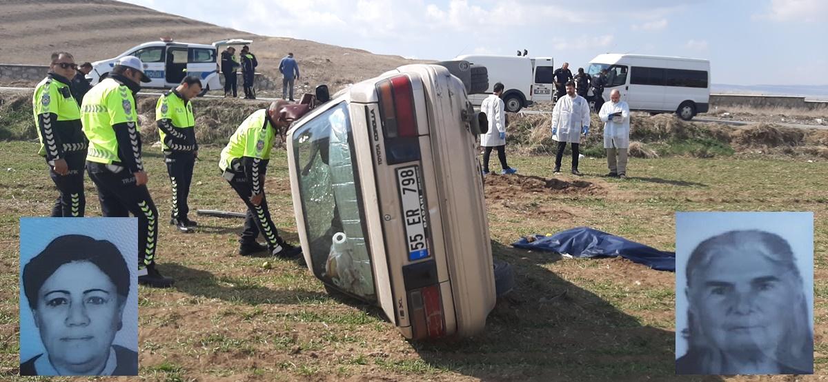 Otomobil Takla Attı; 1 Ölü, 1 Ağır Yaralı
