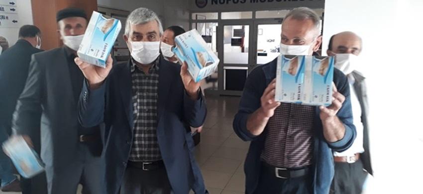 İskilip'te Köylere Maske Dağıtımı