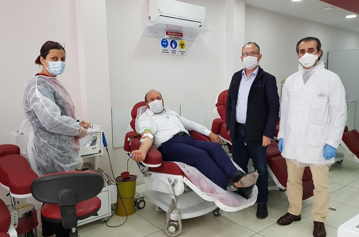 Kavuncu Kan Bağışında Bulundu