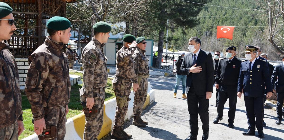 Çorum'da Polis Haftası Kutlandı