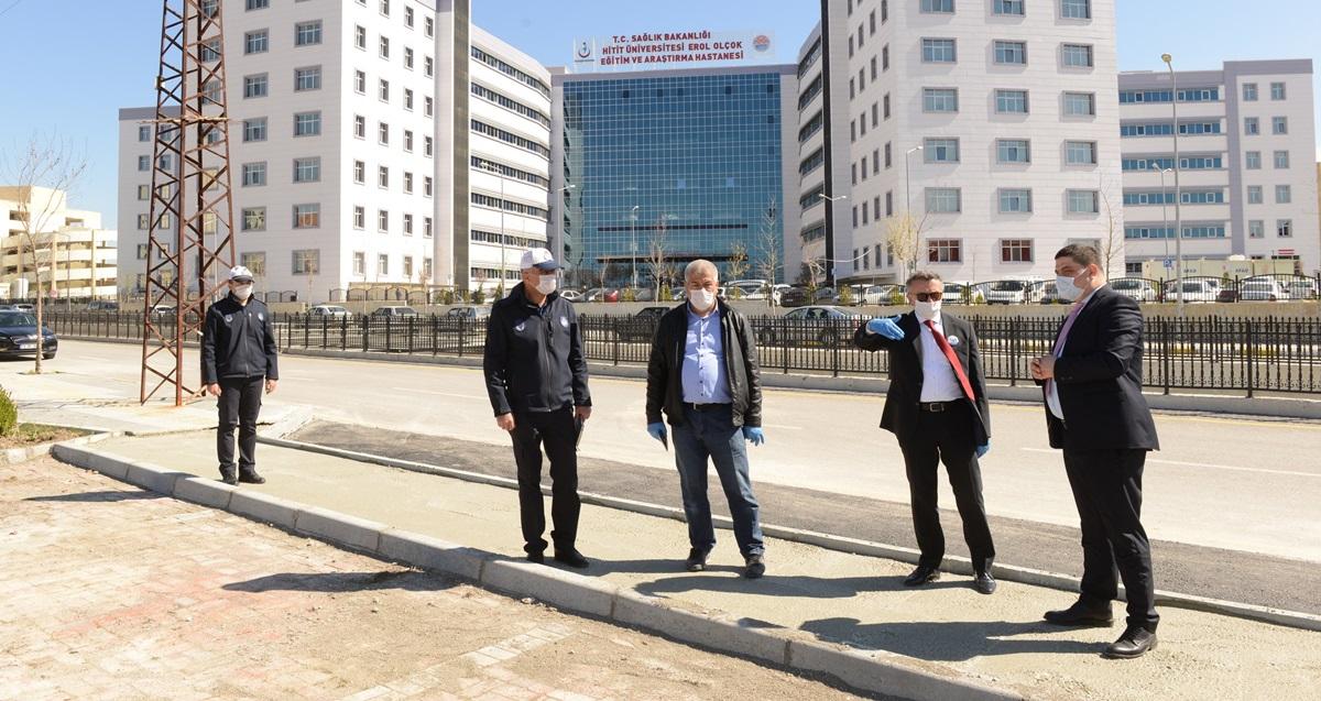 Hastane Çevresinde Trafik Düzenlemesi Yapıldı