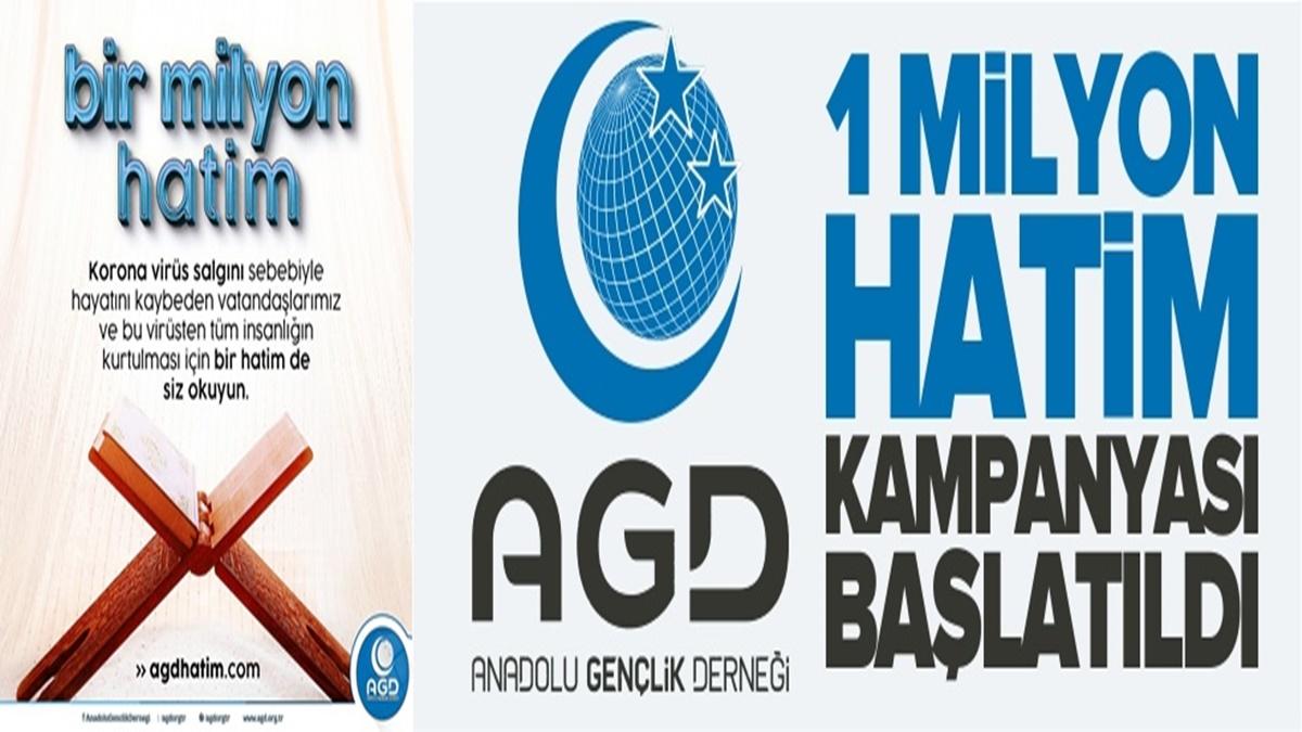 AGD' den, 1 Milyon Hatim Kampanyası