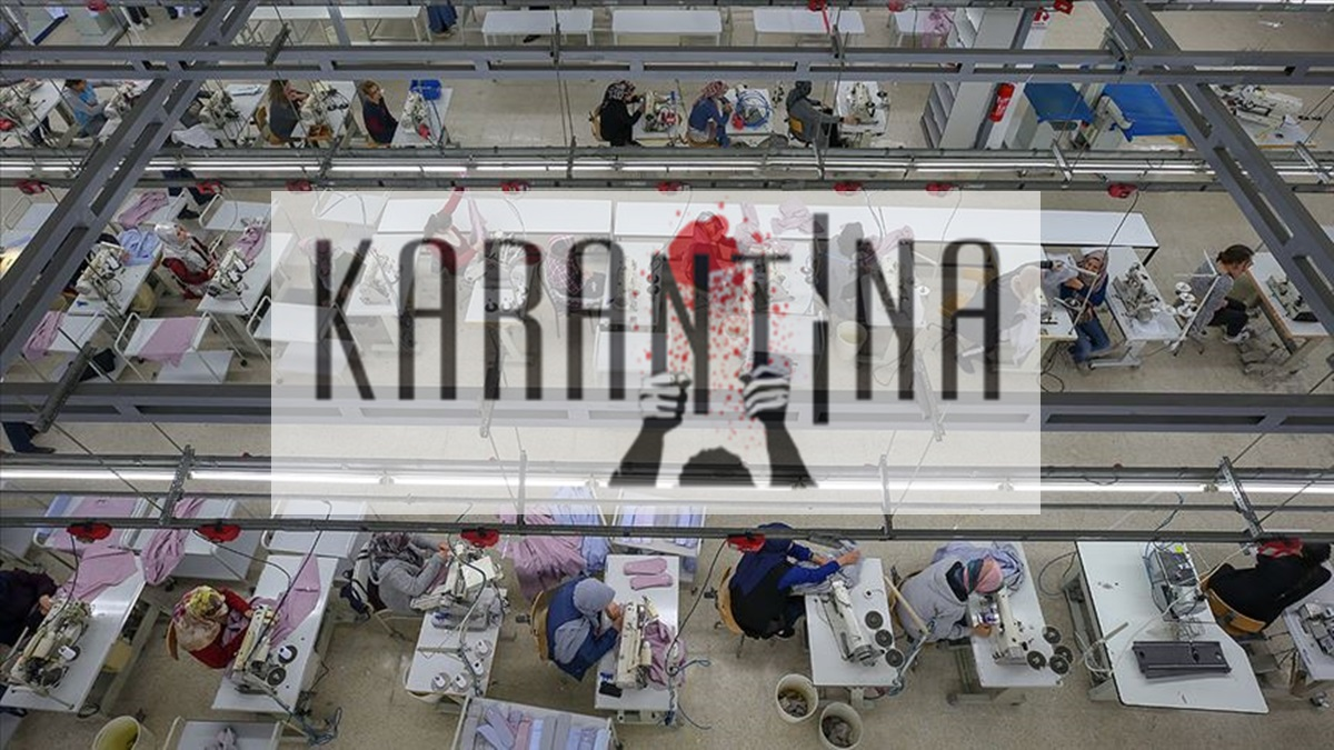 Çorum'da Fabrika Karantinaya Alındı