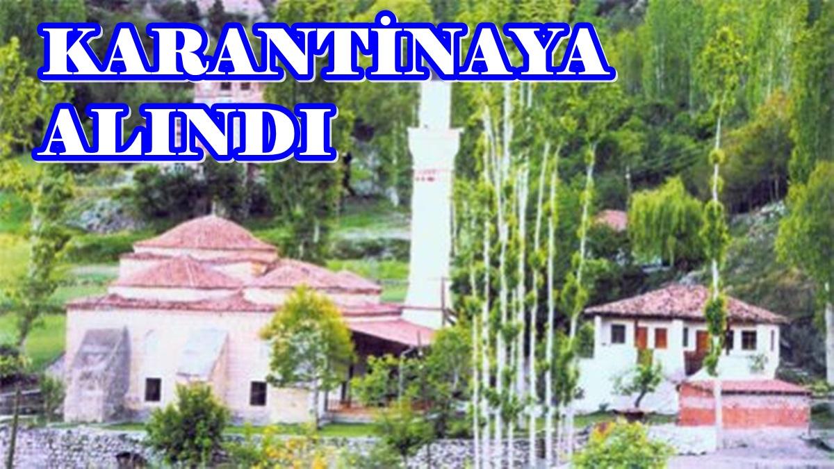 Kargı'nın Oğuz Köyü Karantinaya Alındı