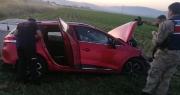 Amasya-Çorum Yolunda Kaza: 3 Yaralı