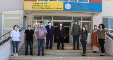 Yakup Sarı İskilip'te Okulları İnceledi