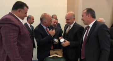 Başkan Aydın'dan, Şifa Niyetini  Bakana Dodurga Kaparisi