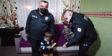 Sungurlu Polisinden Çocuklara Hediye