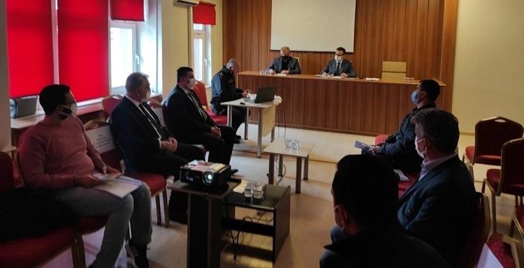 Osmancık İlçe Güvenlik Kurulu Toplandı