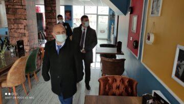 Bayat'ta Korona Virüs Denetimleri Sürüyor