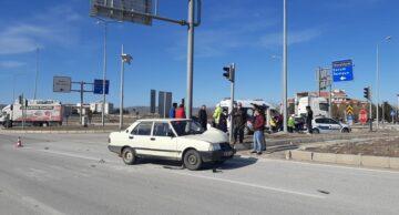 Alaca'da Trafik Kazası: 2 Yaralı