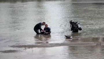 Irmakta Cansız Bedenini Buldular