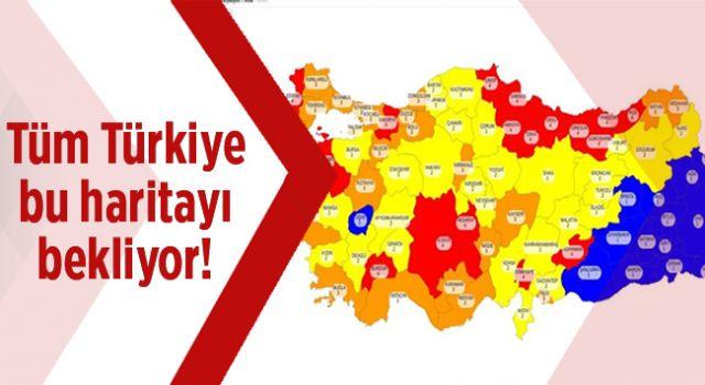 Türkiye Bu Haritayı Bekliyor