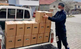 Dodurga Belediyesi İhtiyaç Sahiplerine Gıda Dağıtıyor