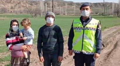 Kaybolan Çocuğu Jandarma Buldu