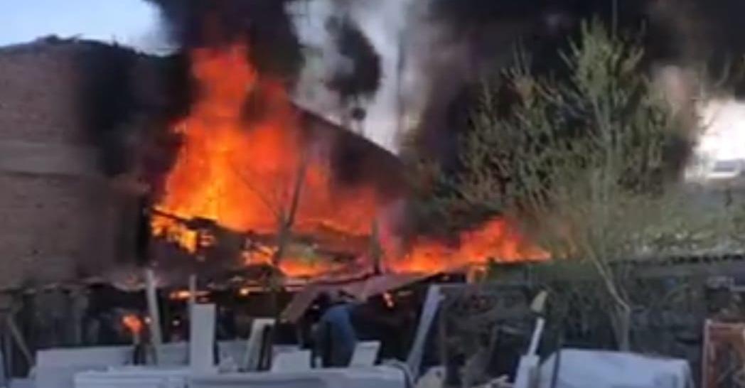 Keresteciler Sitesinde Yangın