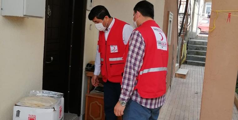 Kızılay Osmancık'ta İhtiyaç Sahiplerini Sevindiriyor