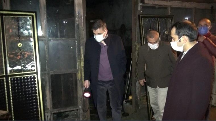 Çorum'daki Yangın Kontrol Altına Alındı
