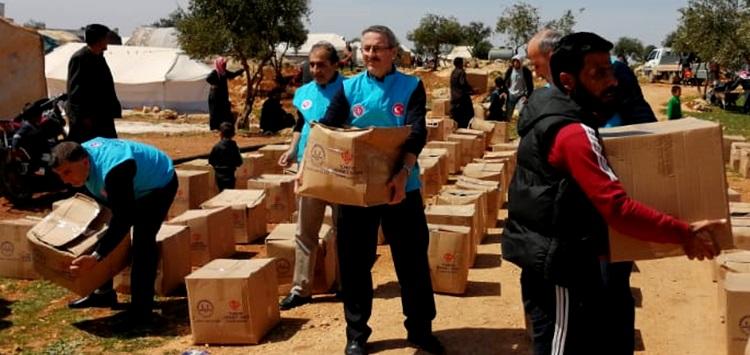 TDV Gönüllüleri, İdlib Ve Azez'de İyilik Dağıttı