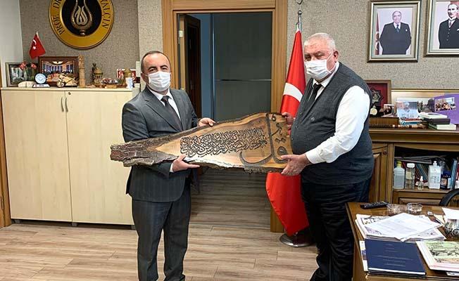 Başkan Sülük MHP Genel Merkezi'nde