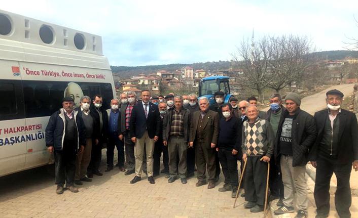 CHP, İskilip Köylerini Gezdi