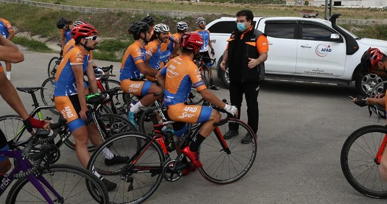 19 Mayıs'ta Samsun'da Olacak 19 Bisikletçi Çorum'da