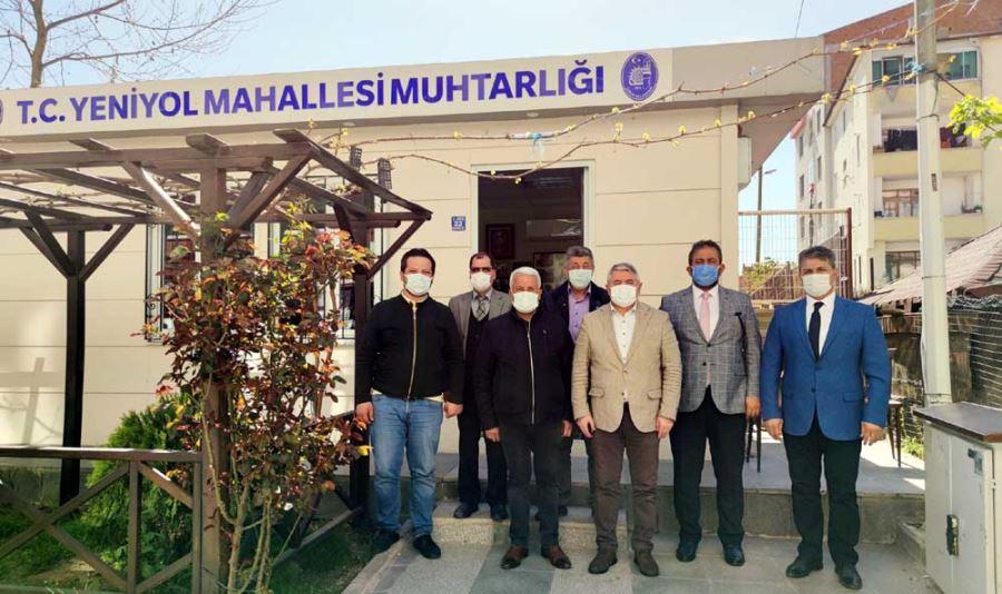 Başkan Aşgın'dan Muhtar Demiray'a Ziyaret