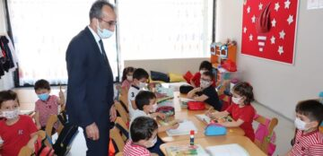 Milli Eğitim Müdürü Kodek, Özel Okulları Gezdi