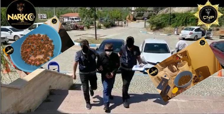 Çorum Polisinden Uyuşturucu Operasyonu