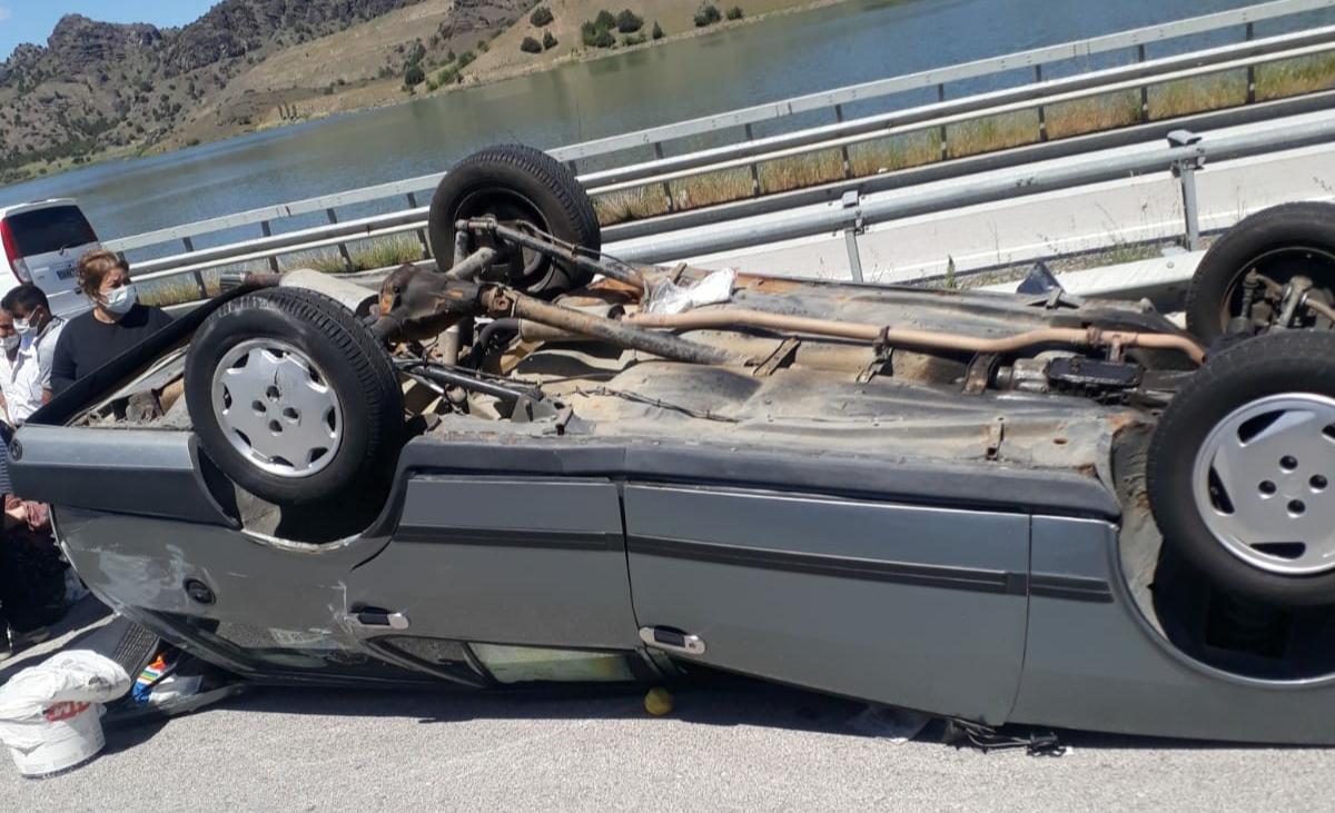 Osmancık'ta Kaza: 3 Yaralı