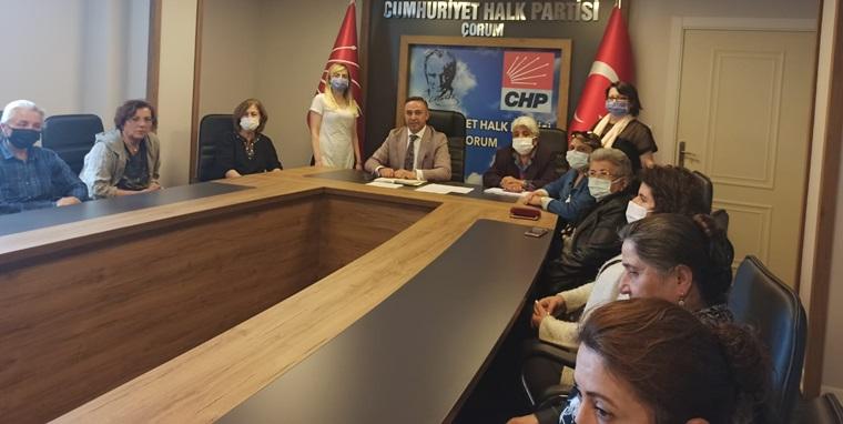 CHP'li Kadınlar, Seçim İçin Kolları Sıvıyor